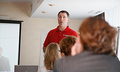 Class facilitation image.